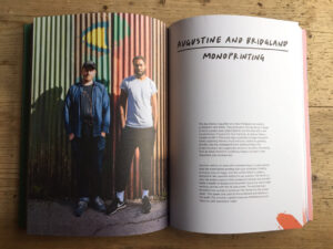Augustine & Bridgland featured artists in Screen Printing