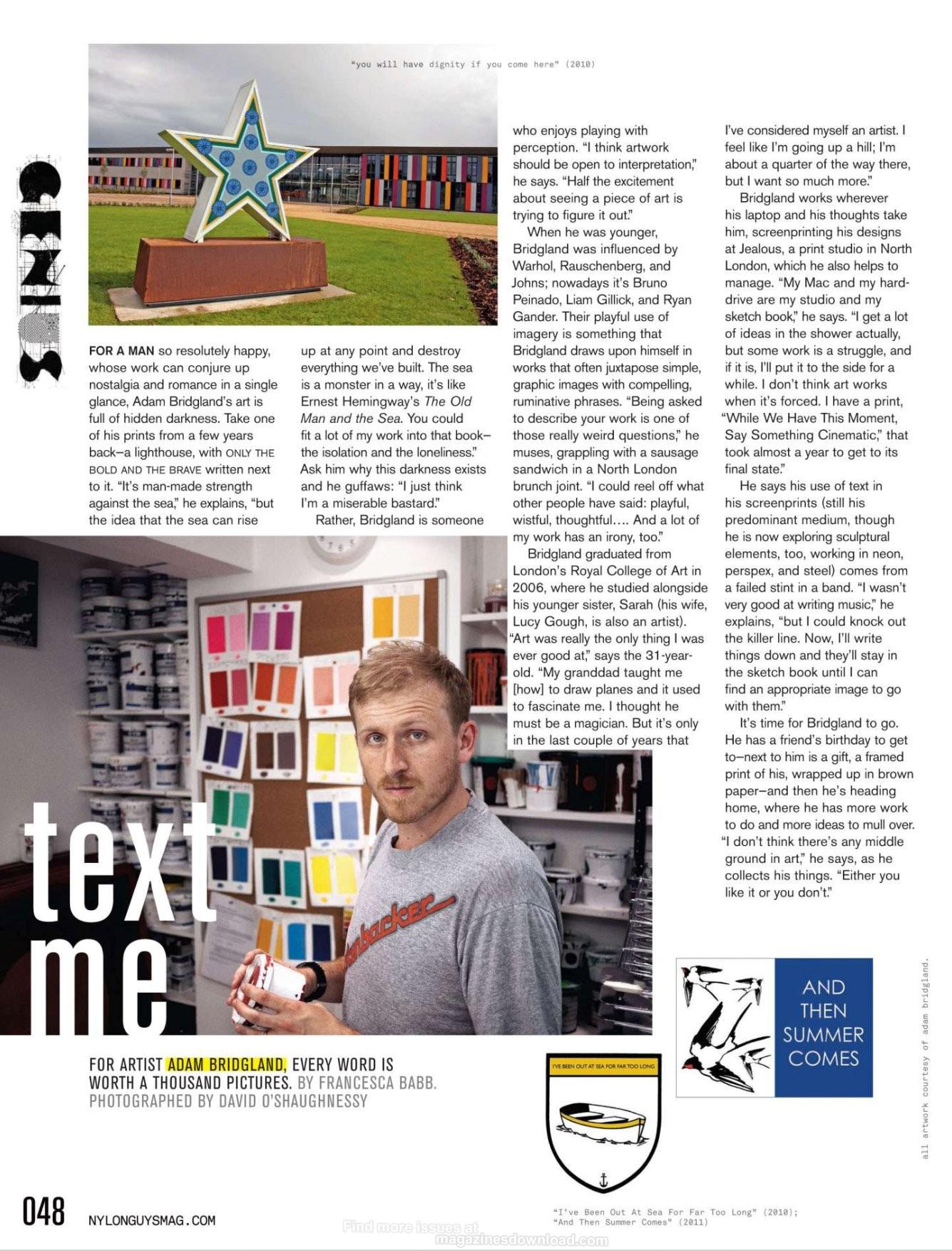 Nylon Guys Magazine